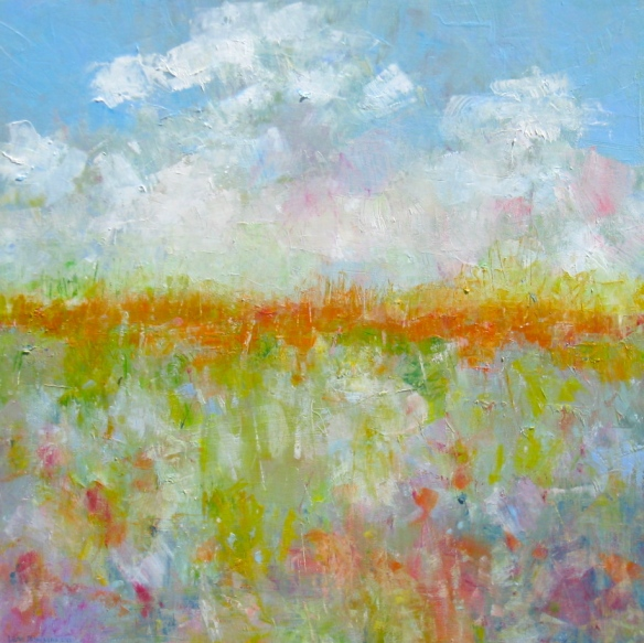 "Aural Tide, Oil on Canvas, 36"" x 36"", 2013"