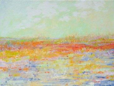 Toujours Printemps, Oil on canvas, 40x30